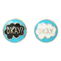 The Fault In Our Stars Okay Earrings
