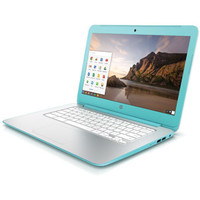 """Walmart: HP 14"""" 14-X010WM Chromebook PC with NVIDIA Tegra K1 Mobile Processor, 2GB Memory, 16GB eMMC and Chrome OS (Available in two colors)"""