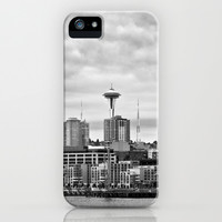 Seattle Waterfront iPhone & iPod Case by Keith Dotson