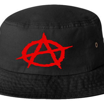 Anarchy bucket hat