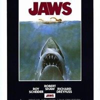 "Jaws (1975) - Commercial Reproduction Poster - Approx 27"" x 40"""
