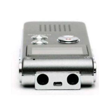 8GB High Quality Voice Recorder 576Hr MP3 Player sliver