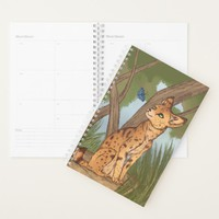 The Serval and the Butterfly Planner