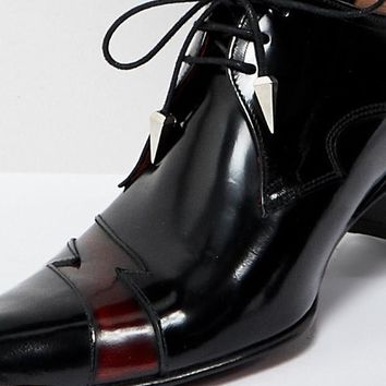 Jeffery West Sylvian lightning shoes in black at asos.com