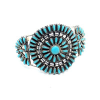 Spring Flowers Navajo Cuff