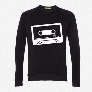 Tape - DJ - Cassette 3 fleece crewneck sweatshirt