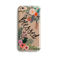 H131 - BLESSED - TPU Clear Phone Case