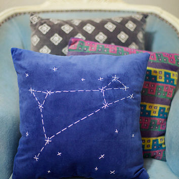 Aries Constellation Pillow