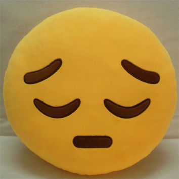 Lovely Emoji Soft Toys Dolls Cushions Pillows Expression