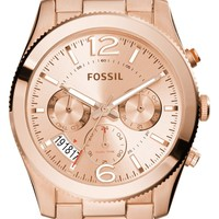 Fossil 'Perfect Boyfriend' Multifunction Bracelet Watch, 40mm | Nordstrom
