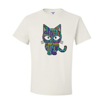 I love cats (Definition of cat) T-shirt