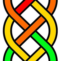 Rainbow Celtic Knot - Gay Pride - (Designs4You) by Skandar223