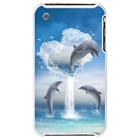 The Heart Of The Dolphins iPhone 3G Hard Case> The Heart Of The Dolphins> Gatterwe
