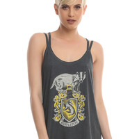 Harry Potter Hufflepuff Girls Strappy Tank Top