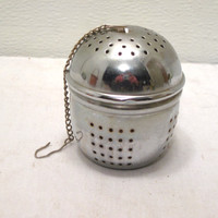 Tea, Steeper, Ball, Loose, Leaf, Server, Infuser, Kitchen, Utensil, Tea Time, Large, Pot, Strainer, Sieve, Party, Lover, Travel, Herb, Gift