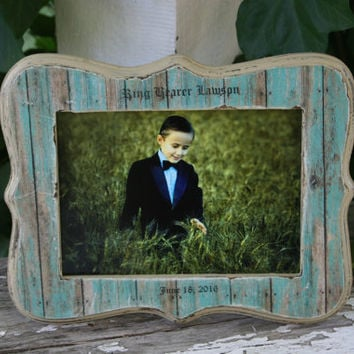 5 x 7 frames / personalized frames / personalized gifts / ring bearers /  flower girls / flower girl gifts / ring bearer gifts