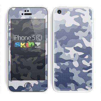 The Traditional Snow Camouflage Skin for the Apple iPhone 5c