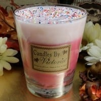 Candles by Victoria - Highly Scented Candles & Wax Tarts - Pink Cupcake Sweet Treat