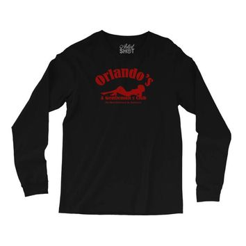 he wire   orlando's gentlemans club   cult tv Long Sleeve Shirts