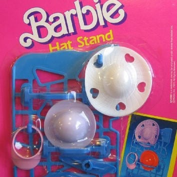 Barbie Hat Stand Set (1989 Arco Toys, Mattel)