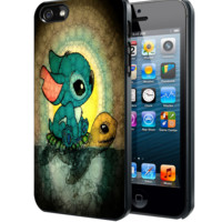 Swimming Stitch Turtle Samsung Galaxy S3 S4 S5 Note 3 , iPhone 4 5 5c 6 Plus , iPod 4 5 case