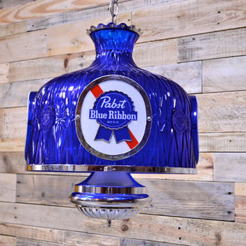 Vintage Pabst Light, WORKS, Pabst Hanging Light