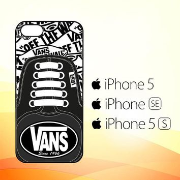 vans W3057  iPhone 5|5S|SE Case