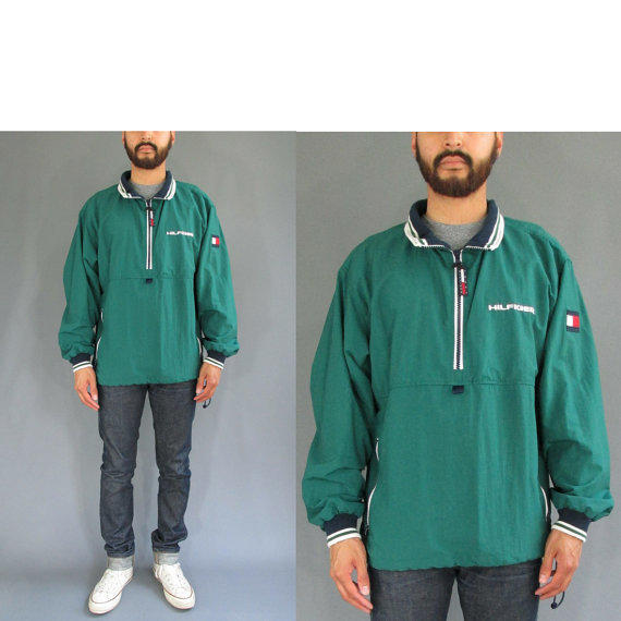 90s Tommy Hilfiger Quarter Zip Pullover from PinewoodGoods on
