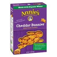 Annie's Homegrown Cheddar Bunnies Baked Snack Crackers, 7.5 oz - Walmart.com