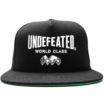 Undefeated - World Class Snapback Cap (Black)