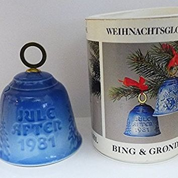 Bing & Grondahl Jule After 1981 Bell Christmas