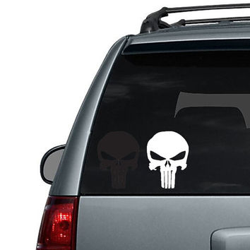 Punisher Skull - Car Decal