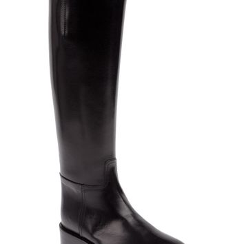 Ann Demeulemeester Blanche buckled strap boot