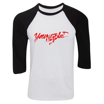 "5SOS 5 Seconds of Summer ""Youngblood"" Baseball Tee"