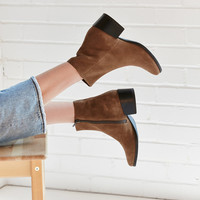 Vagabond Marja Suede Ankle Boot   Urban Outfitters