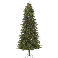 6.5' Pre-Lit Virginia Pine Artificial Christmas Tree - Color Changing LED Lights