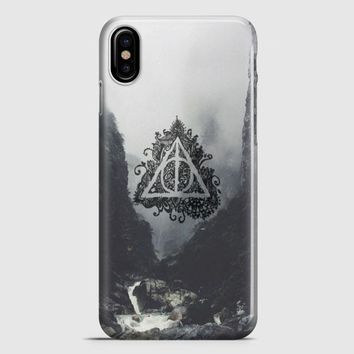 Deathly Hallows Harry Potter iPhone X Case