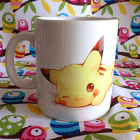 Cute Pokemon Ceramic Mug Coffee Tea Cup Unique Anime Pikachu