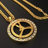 Boys & Men Fashion Hip Hop Jordan Necklace