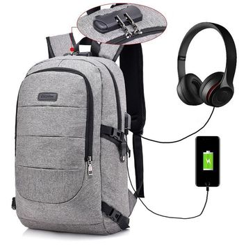 Anti Theft & Password Protected Backpack