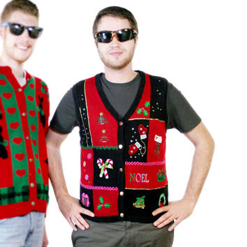 Noel, We Have Your Ugly Christmas Sweater Vest - The Ugly Sweater Shop