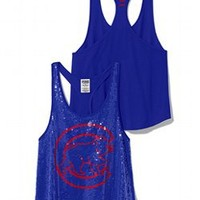 Chicago Cubs Bling Racerback Tank - PINK - Victoria's Secret