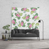 tropical Wall Tapestry by Sylvia Cook Photography