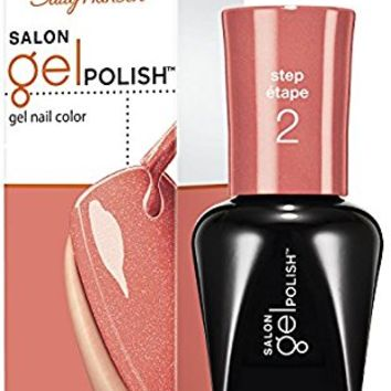 Sally Hansen Salon Gel Nail Polish, Just Peachy, 0.25 Fluid Ounce