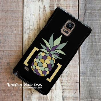 Pineapple In Brackets Design  HTC One M8 Case Cover for M9 M8 One X Case