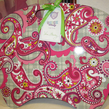 Vera Bradley LAP DESK Paisley Meets Plaid  VHTF  UNused