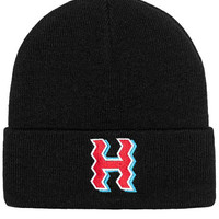 The Crooked H Beanie in Black