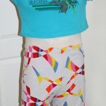 Vintage 80s Mens Shorts Jams Bramuda Shorts by AbateArts on Etsy