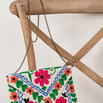 Alice Tapestry Clutch