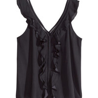 H&M Ruffled Camisole Top $9.95